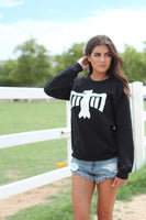 Thunderbird Crewneck Sweatshirt Black