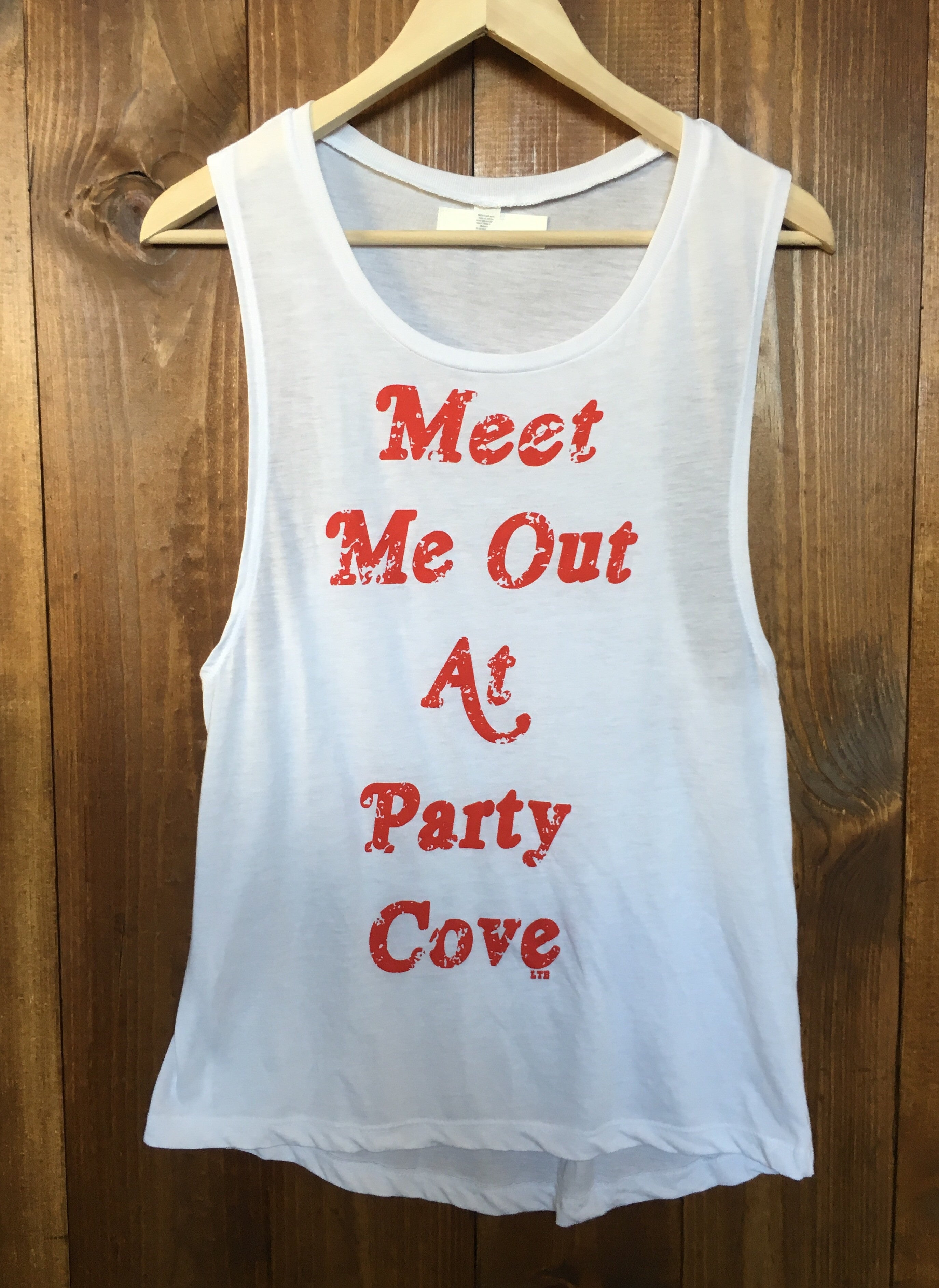 Party Cove Muscle Tank