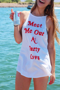 Party Cove High Neck Tank