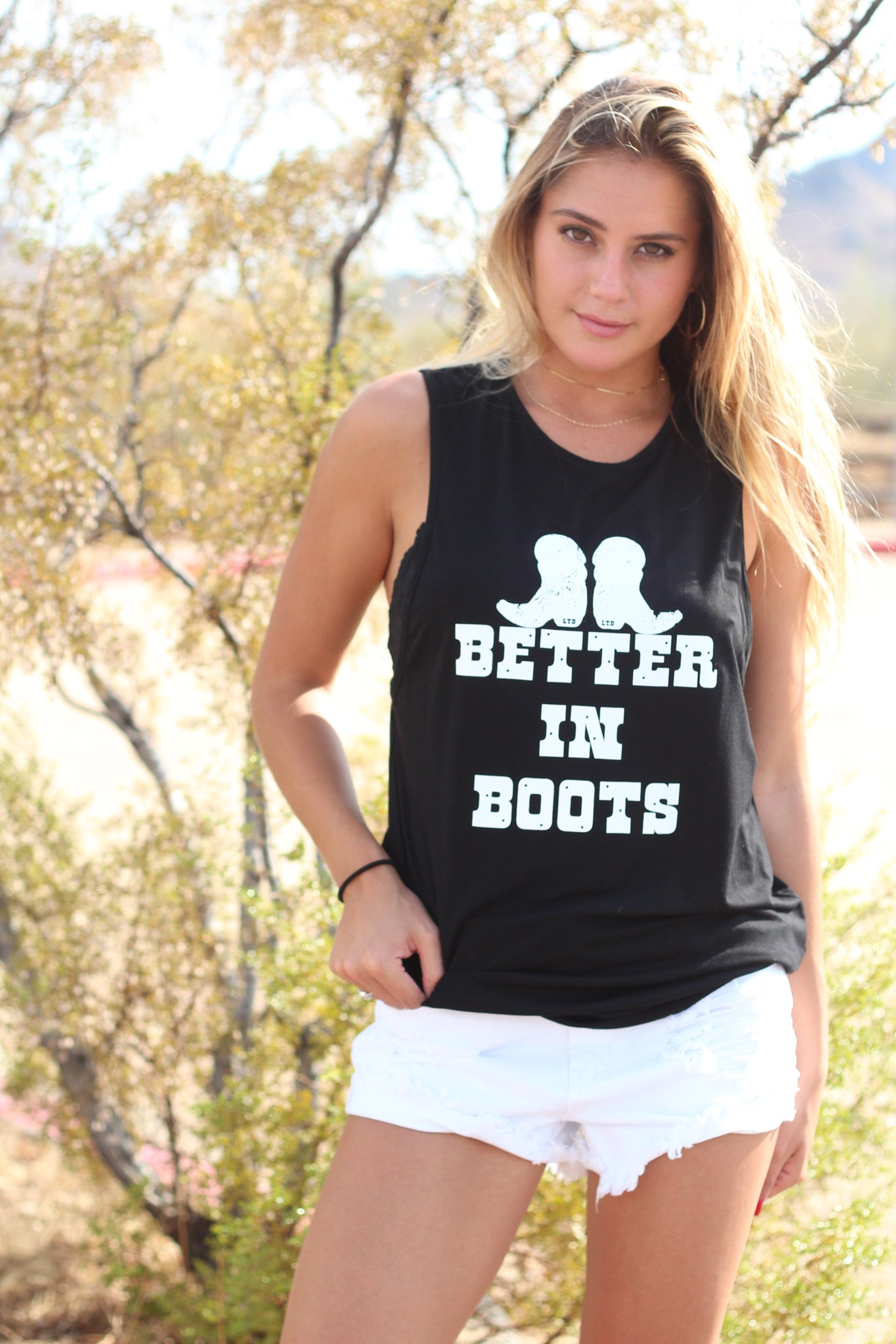 Better in Boots Signature Tank 1.0