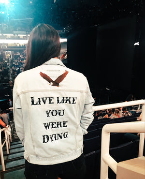 Z Live Like You Were Dying Jacket