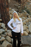 Blonde Bandit Hooded Long Sleeve