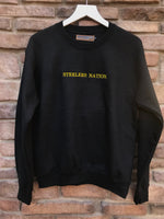 [LTB Customs] Steelers Nation Crewneck Sweatshirt