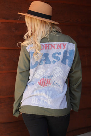 Z Cash Army Jacket