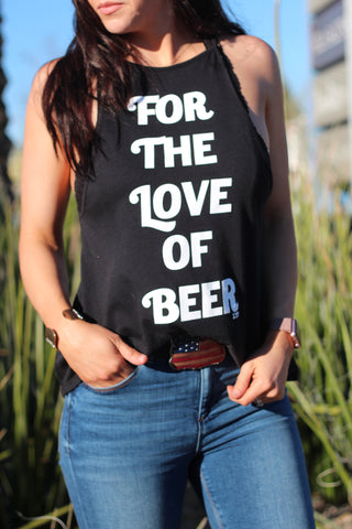 Love of Beer High Neck Tank