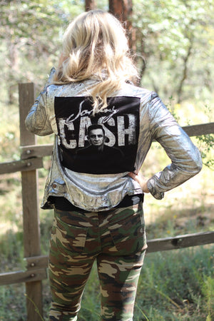 Cash Metallic Jacket