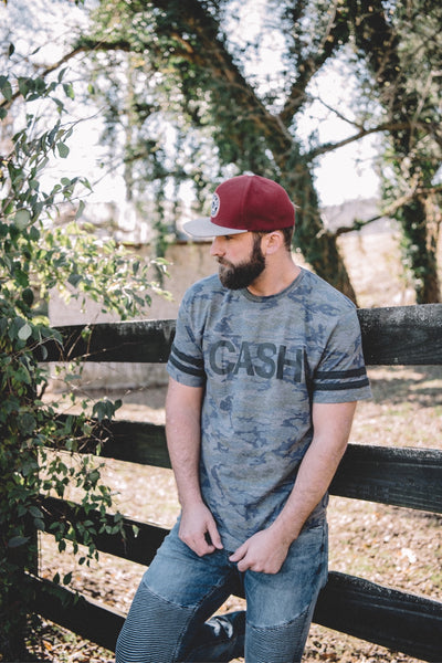[SUMMER SALE] CASH Camo Tee