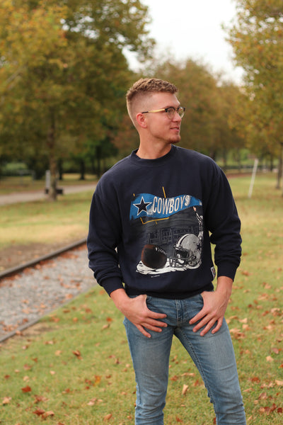 [VINTAGE] Cowboys Sweatshirt Small/Medium