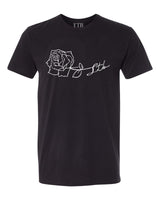 [SALE] Rose LTB Tee Black