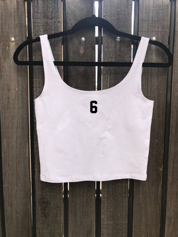 [LTB Customs] Embroidered Crop Top Number