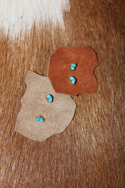 BTQ Turquoise Heart Earrings