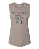 [SUMMER SALE] Whiskey On Ice Tank Ash