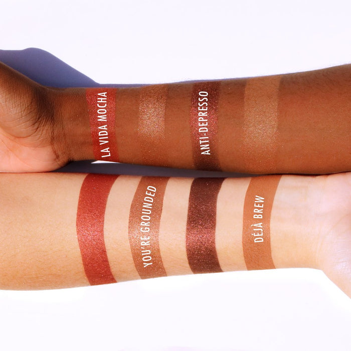 Get Nude Colors for Every Skin Tone | Coffee & Cocoa Palette by Beauty Bakerie Cosmetics Brand