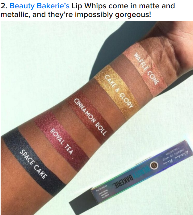 Buzzfeed: 17 Awesome AF Lipstick Brands You Didn't Know You Needed Until... 							<p>Read More <span class=