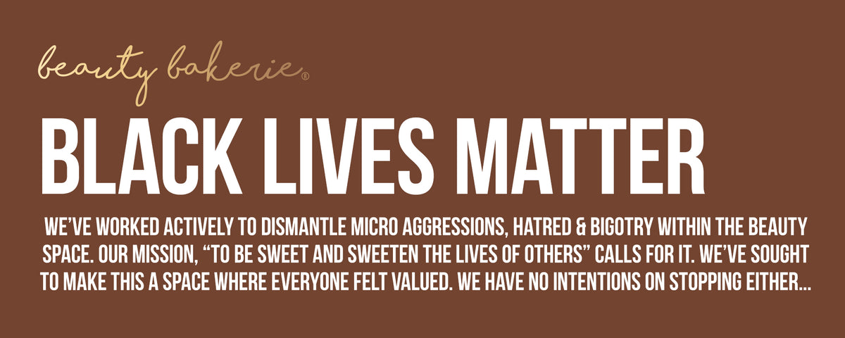 We've worked actively to dismantle microaggressions, hatred and Bigotry within the Beauty Space. Our Mission, to be sweet and sweeten the lives of others calls for it. we sought make this a space where everyone felt valued. have no intentions on stopping either...