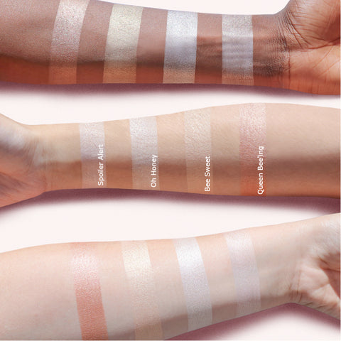 Milk & Honey Palette Arm Swatches | Beauty Bakerie Cosmetics Brand