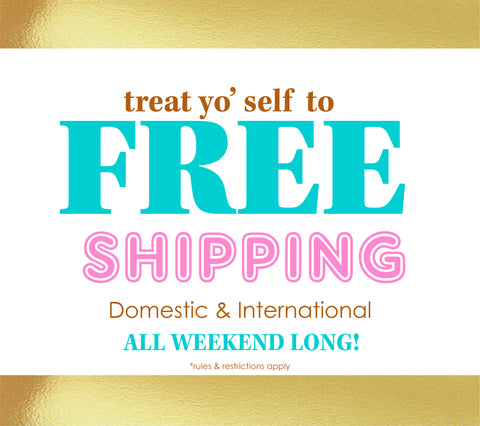 Beauty Bakerie Free Shipping Weekend