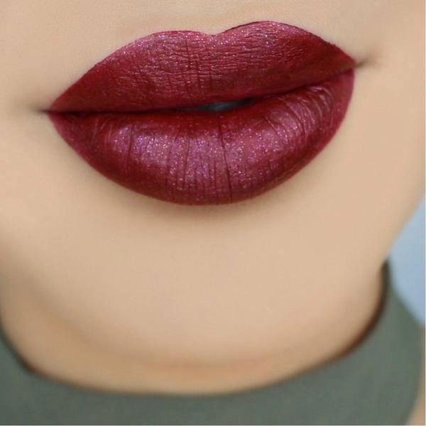 Berried Metallic Lip Whip