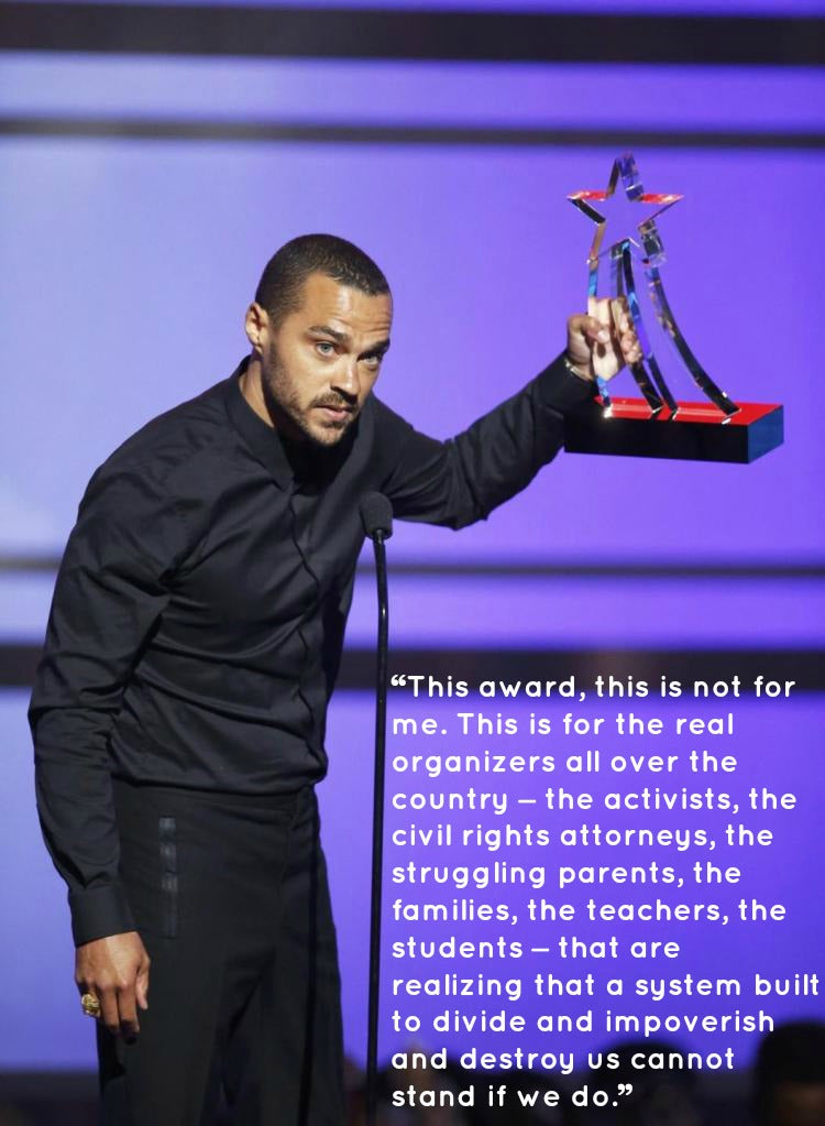 BET 2016 Jesse Williams Speech