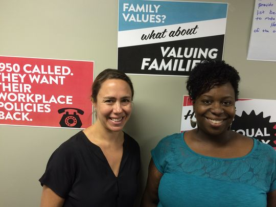 Women's Equality Day: Vivien Labaton & Tracy Sturdivant