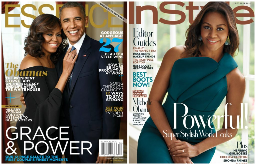 Michelle Covers October Magazines