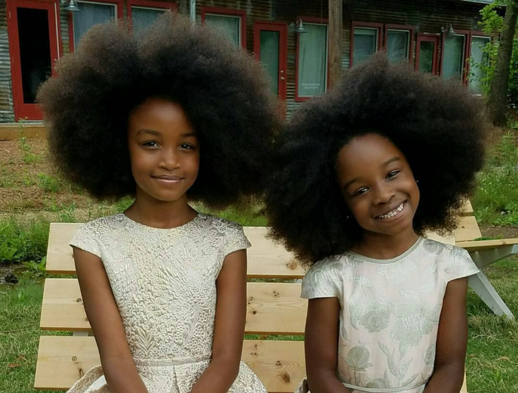Baby Naturalista Styles: Afro Puffs
