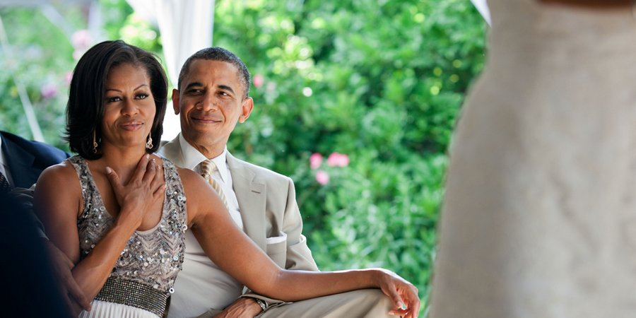 Celebrities We're Thankful For: Barack & Michelle Obama