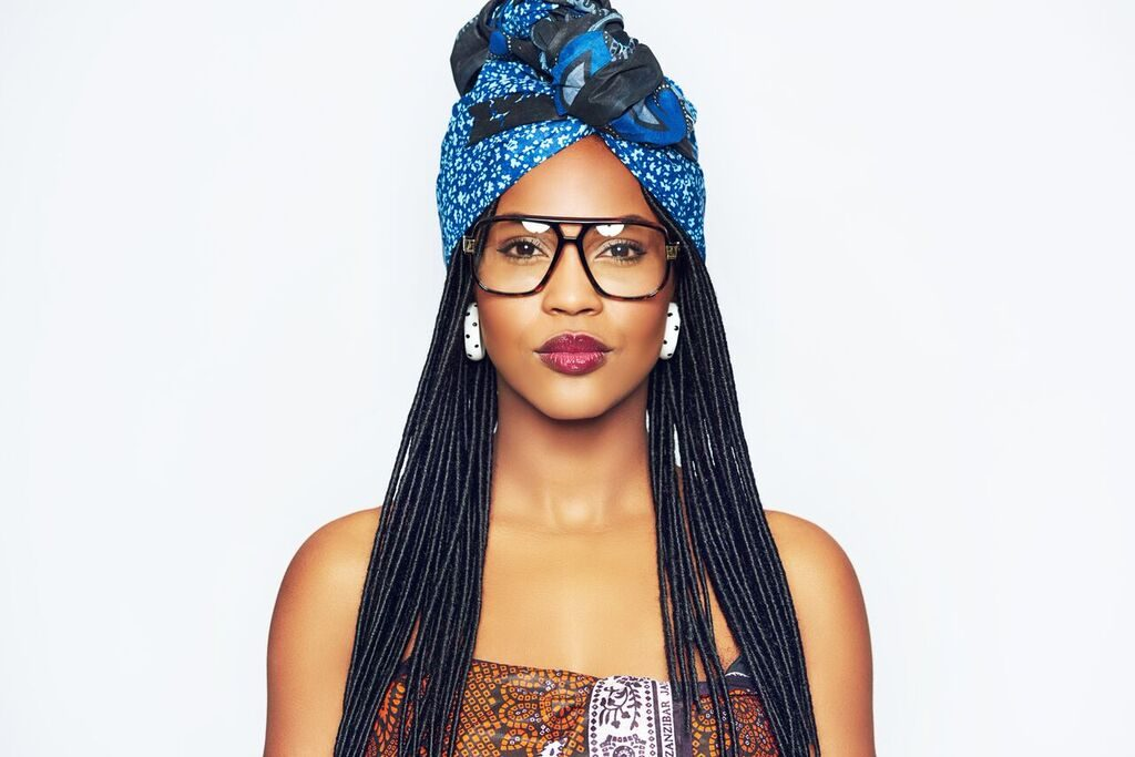 Topknot Headwrap Style
