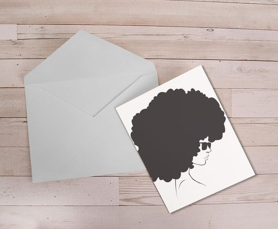 Curly Fro Stationary