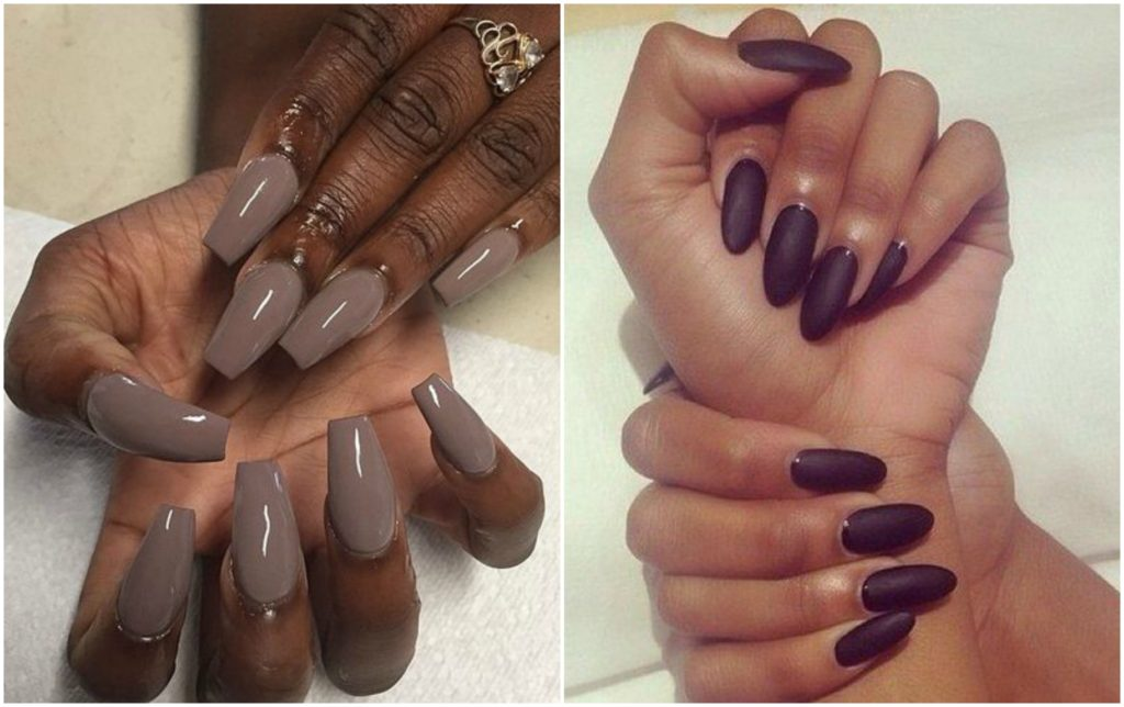 Fall Beauty Trends: Midnight Manicures