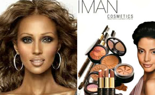 Black Owned Beauty Brand: Iman Cosmetics