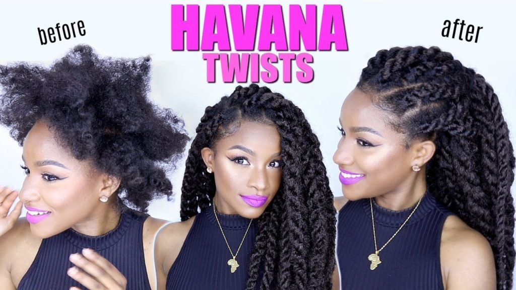 Protective Style: Twists