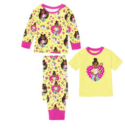 Sweet & Magical 3-Piece Pajama Set for Girls