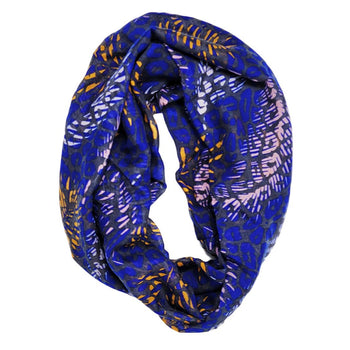 Royal Feather Infinity Scarf
