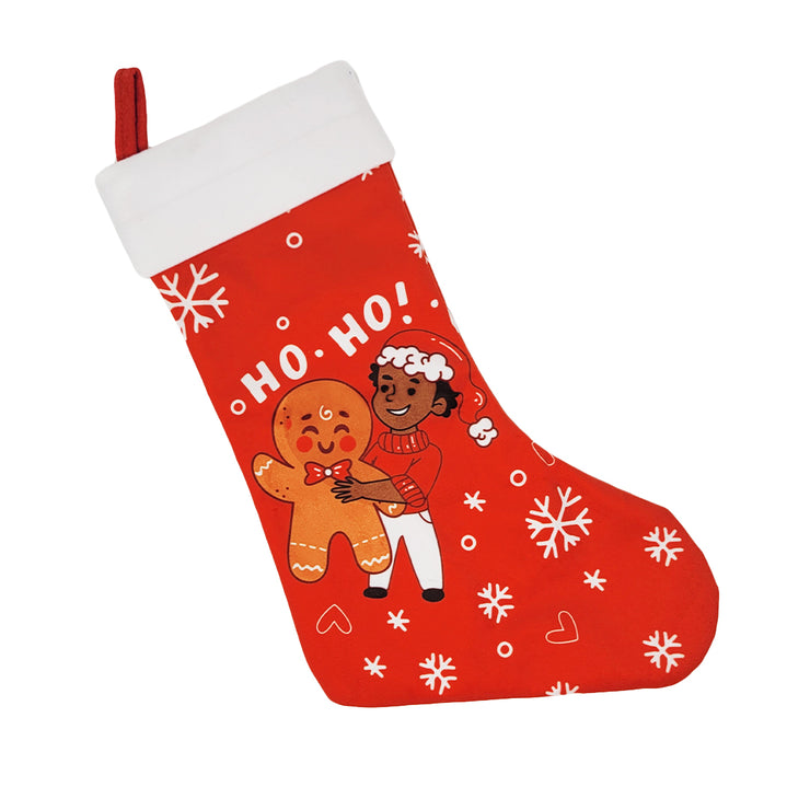 Gingerbread Boy Holiday Stocking