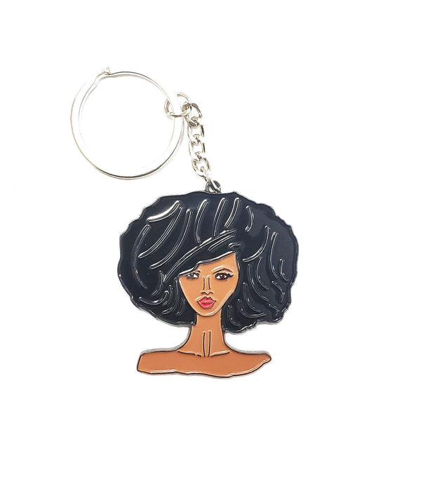 Avatar Girl Keychain