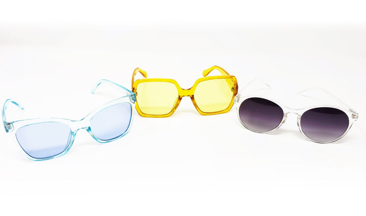 Yellow Translucent Sunglasses - Izzy & Liv - sunglasses