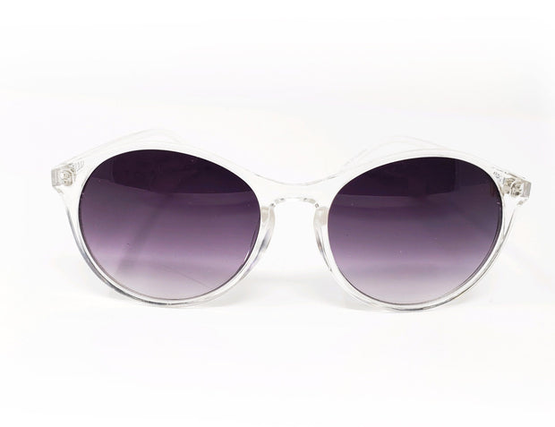 Clear/Smoke Translucent Sunglasses