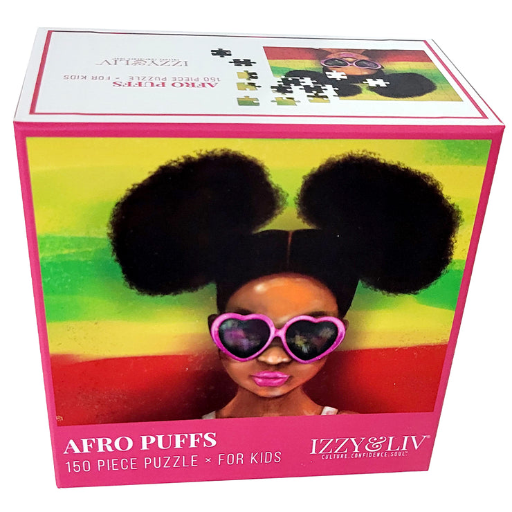 """Afro Puffs"" 150 Piece Puzzle"