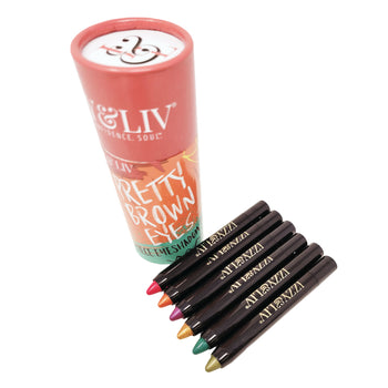 Pretty Brown Eyes Eye Shadow Pencil Set