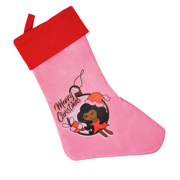 Merry Christmas Holiday Stocking