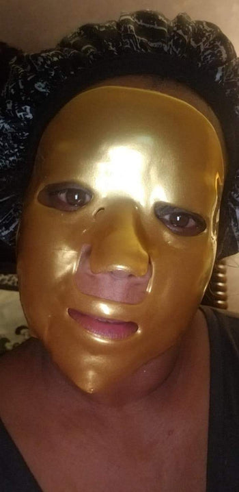 Golden Glo Bio-Collagen Facial Mask (Single)