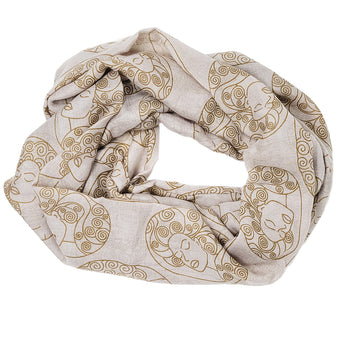 So Beautiful Infinity Scarf (Tan)