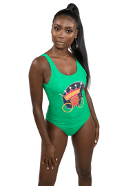 Crowned Queen Bodysuit, Bathing Suit - Izzy & Liv - swimsuit