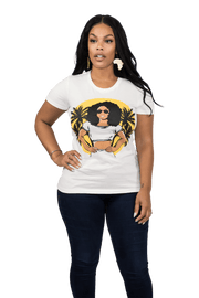 Sunset Goddess Shirt - Izzy & Liv - graphic tee