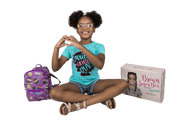 Tween Girls Edition Brown Sugar Box (QUARTERLY - Ages 9-14) - Izzy & Liv - subscription