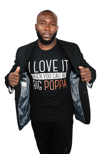 Big Poppa T-Shirt - Izzy & Liv - graphic tee
