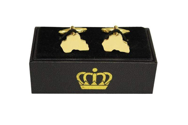 Africa Cuff Links - Izzy & Liv - Accessories