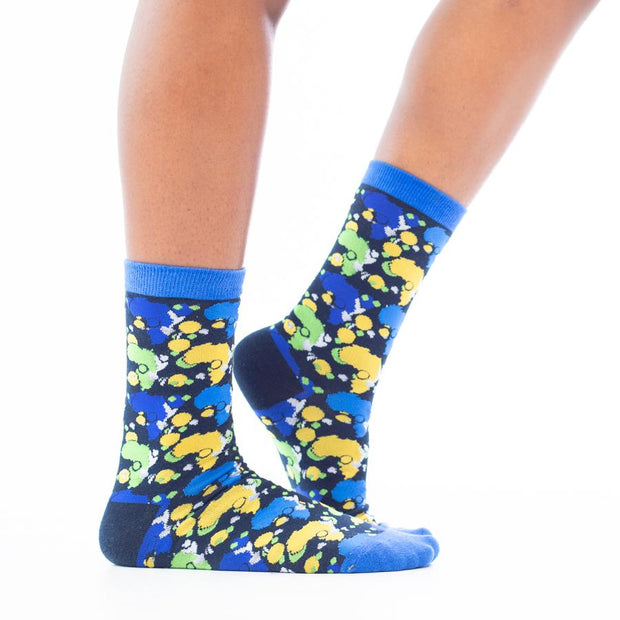 Diaspora Twilight Socks (1 Pair)