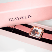 Vegan Leather IL Avatar Watch (4 Colors) - Izzy & Liv - bracelet